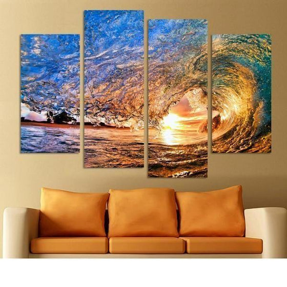 Wall Art Sunrise Metal Print