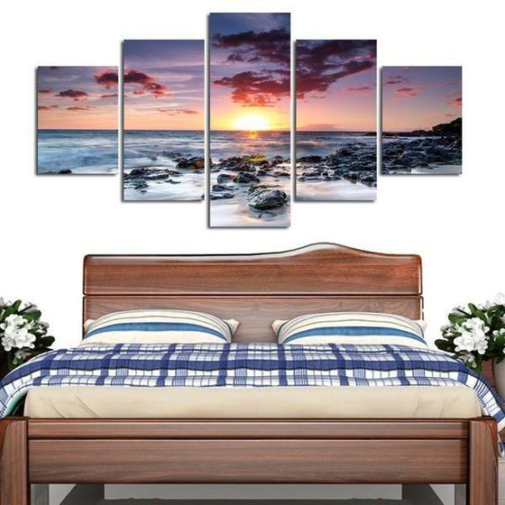 Wall Art Sunset Pink Ideas