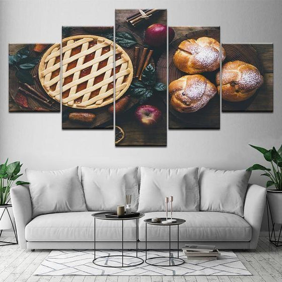 Freshly Baked Apple Pie Canvas Wall Art Ideas