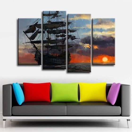 Wall Print Sunset