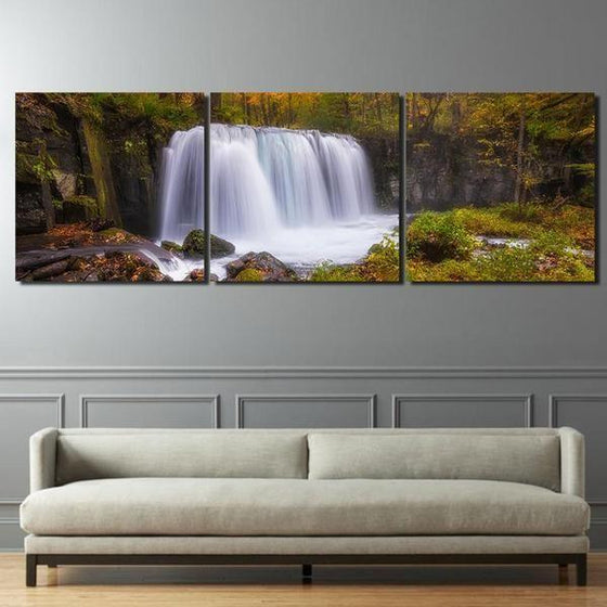 Waterfall Wall Art With Sound Canvases