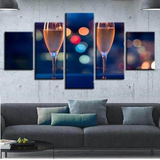 Wine Themed Wall Art Canvas