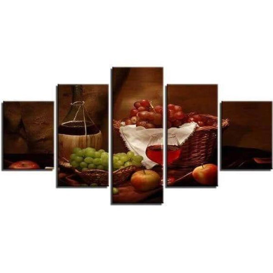 Wine Wall Art Decorating Dining Room Decors