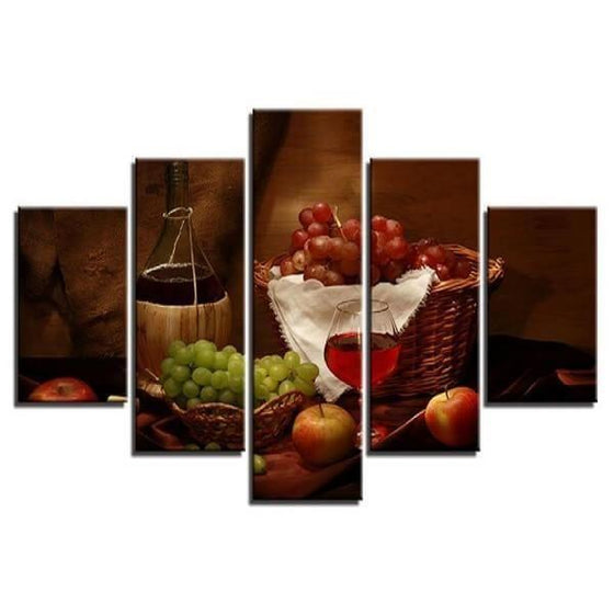 Wine Wall Art Decorating Dining Room Print