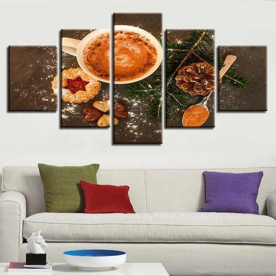 Coffee & Spices Canvas Wall Art Home Decor