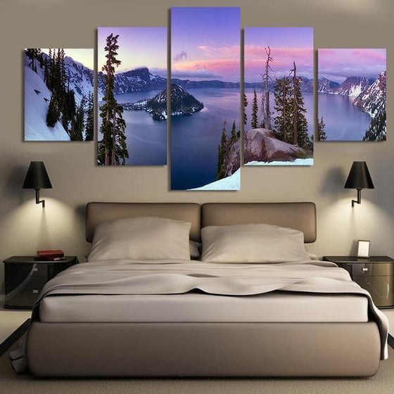 Wooden Wall Art Mountain Decors