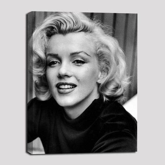 Young Marilyn Monroe Wall Art Canvas