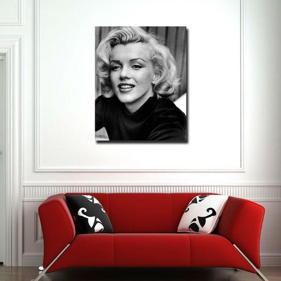 Young Marilyn Monroe Wall Art Decor