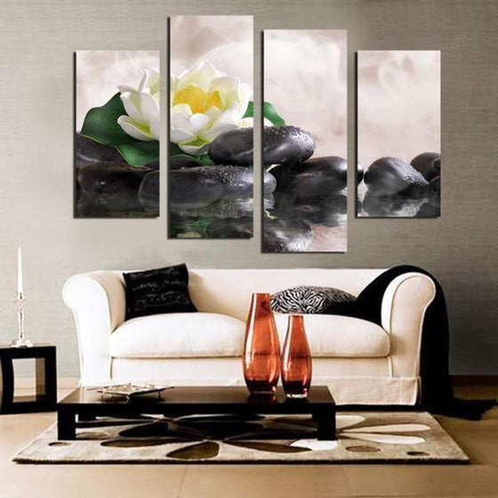 Zen Garden Wall Art Canvas