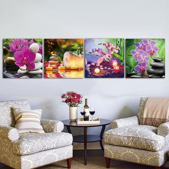Zen Wall Art Canvas Decors