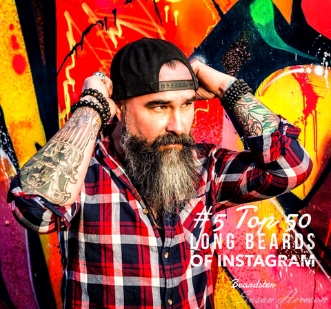Top 50 Long Beards of Instagram - Beard styles 2018
