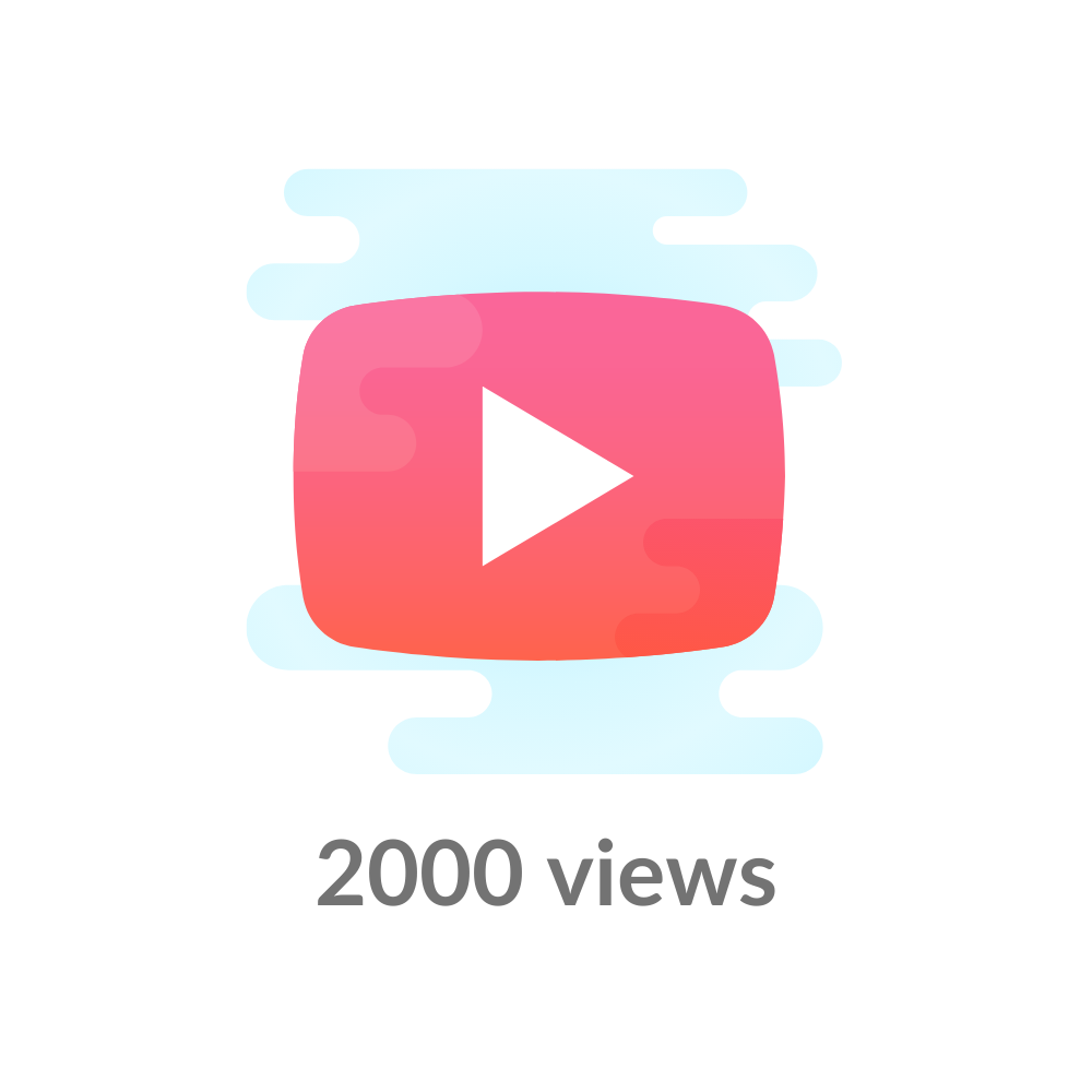 Køb 2000 Youtube views