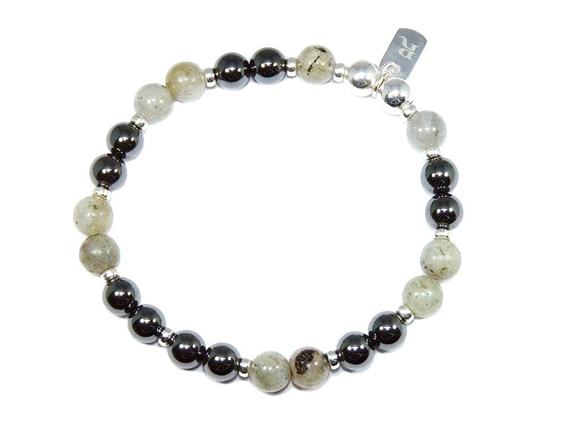 Mixed Gunmetal Bracelet