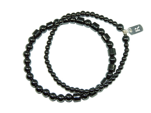Mixed Hematite Double Stack | DarcyRose Jewellery