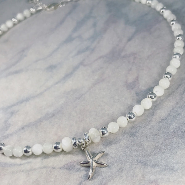 Beach Pearl Anklet