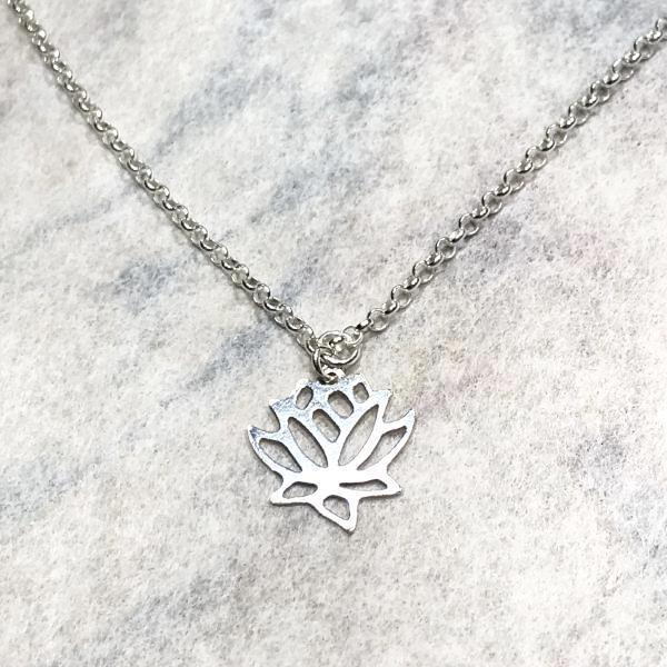 Lotus Flower Chain | DarcyRose Jewellery