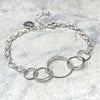 Delicate Never Ending Circle Bracelet | DarcyRose Jewellery