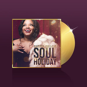 HOLIDAY EDITON GOLD MINI VINYL SIGNED + FULL ALBUM DOWNLOAD
