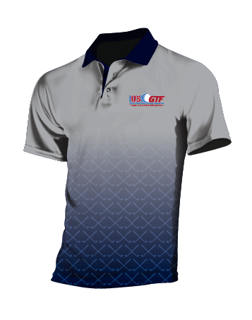 A5 GOLF SHIRT - OFFICIAL 2018 USGTF POLO - Designed & custom made for you by Ontal