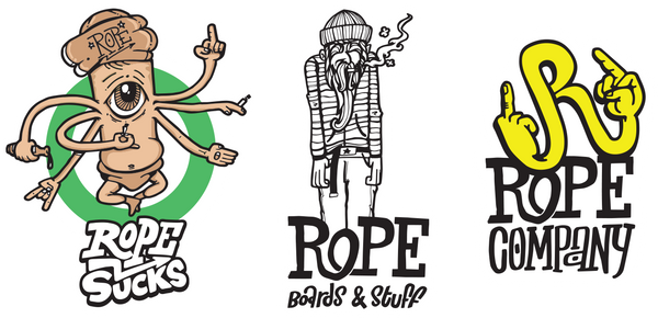 Rope stickers