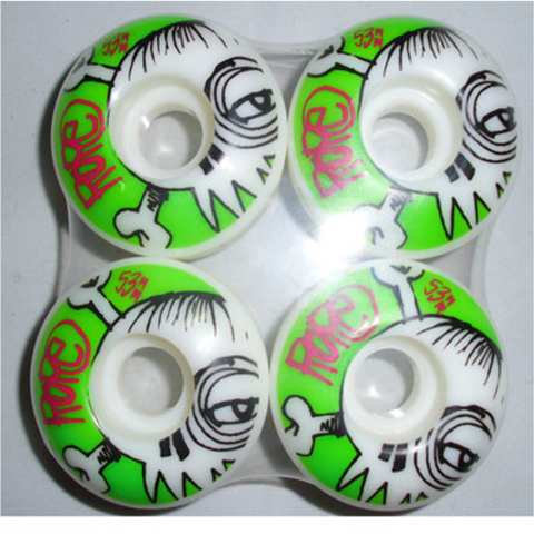 Skateboard wheels Green - Ropeshop.rs