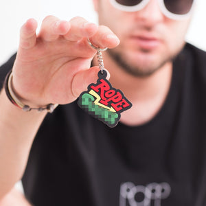 KEY CHAIN RED & GREEN