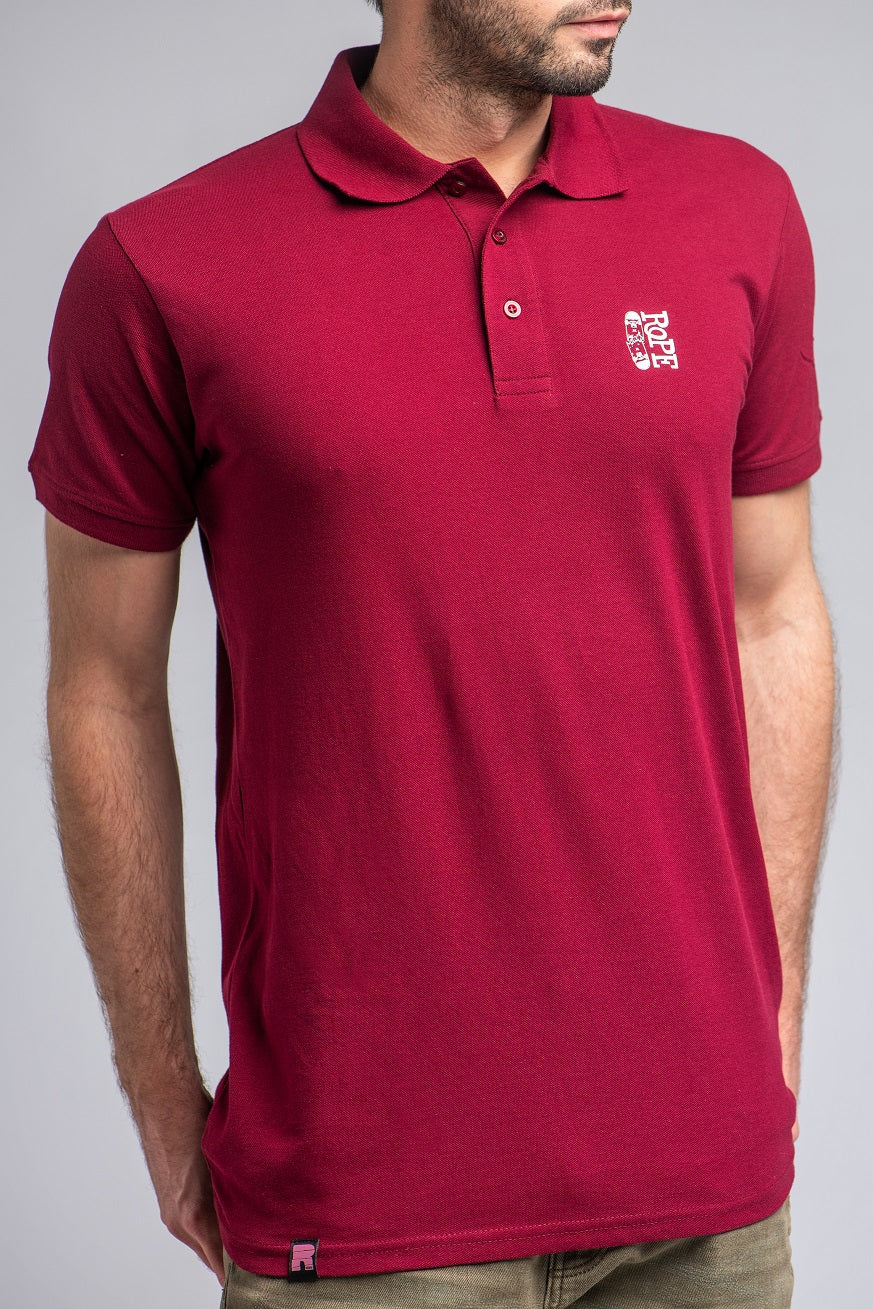 POLO MAJICA BORDO