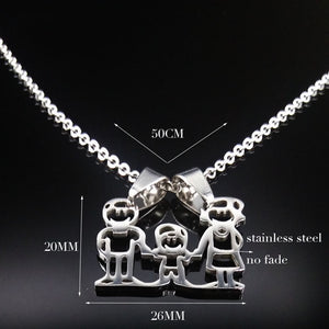 Mama Family Necklaces : Women Gift Stainless Steel Necklace