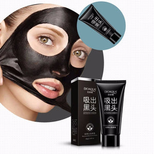 AFY Suction Black Mask Face Care Facial Mask Acne Treatments skin lightening blackhead remover mask anti acne masks black head 60g+8g