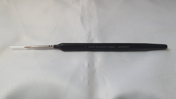 Size 1 Pure Kolinsky Sable Brush Made In Germany