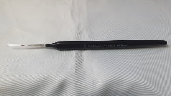 Size 3/0 Pure Kolinsky Sable Brush Made In Germany