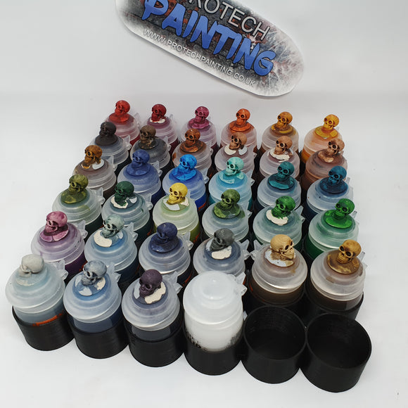 Games Workshop Paints Rack 36
