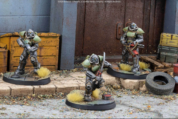 Fallout: Wasteland Warfare - Unaligned: T-51 Power Armour
