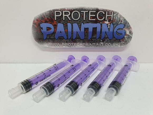 Paint Syringe (5 Pack)