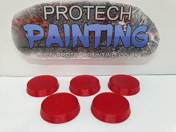 27mm Legion Replacement Bases (Chilli Red Ltd Edition) !!!!