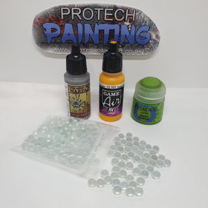 Glass Paint Agitators 6mm (50 Pack)