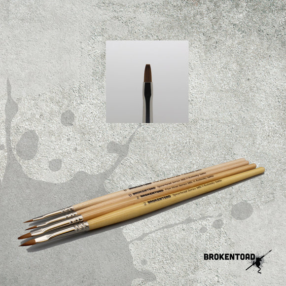Flat Head Series MK3 brush - Size 2