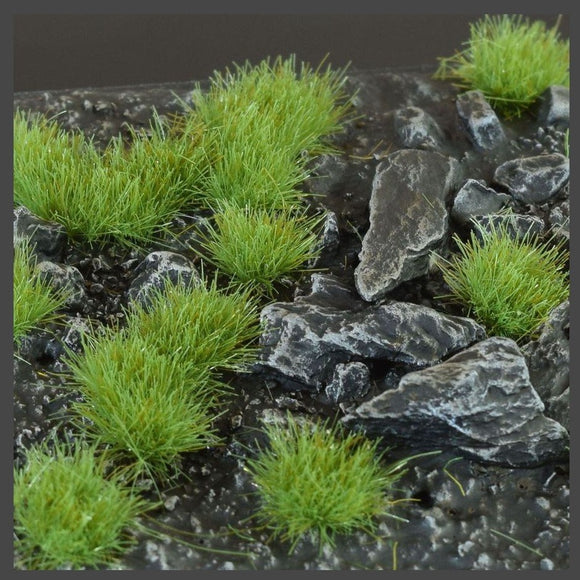 Green (4mm) Small Tufts