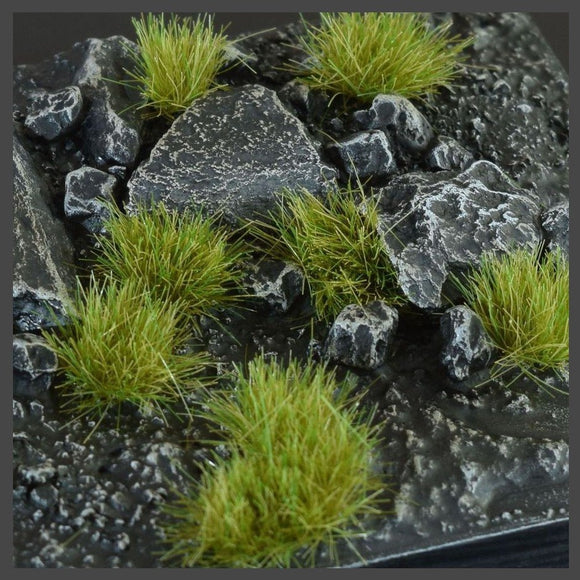 Dry Green (6mm) Wild Tufts