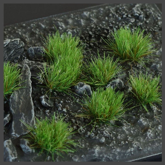 Strong Green (6mm) Small Tufts