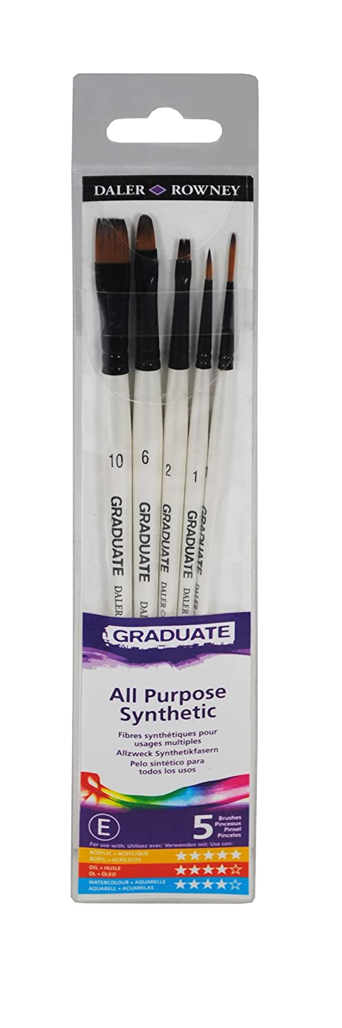 Daler Rowney Graduate All Purpose Synthetic Set