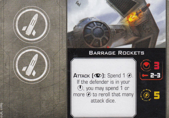 Barrage Rockets