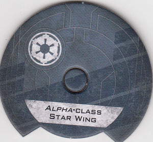 Alpha-Class Star Wing (Galactic Empire Dial)