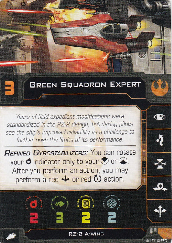 Green Squadron Expert