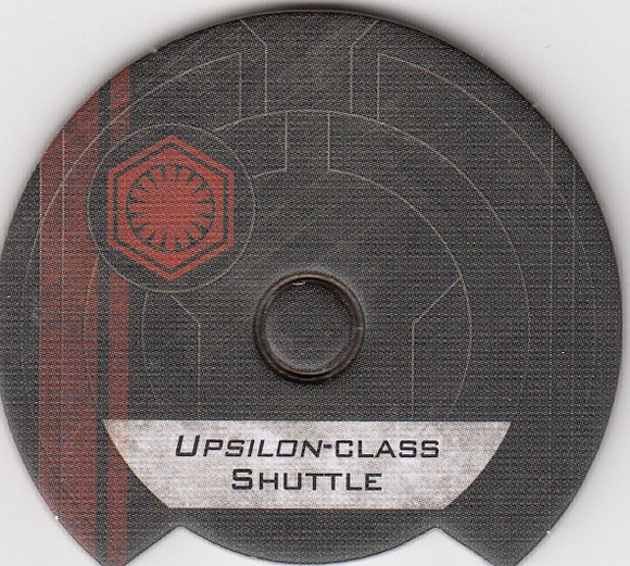 Upsilon-Class Shuttle (First Order Dial)