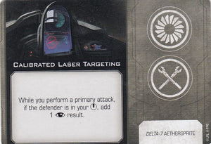 Calibrated Laser Targeting