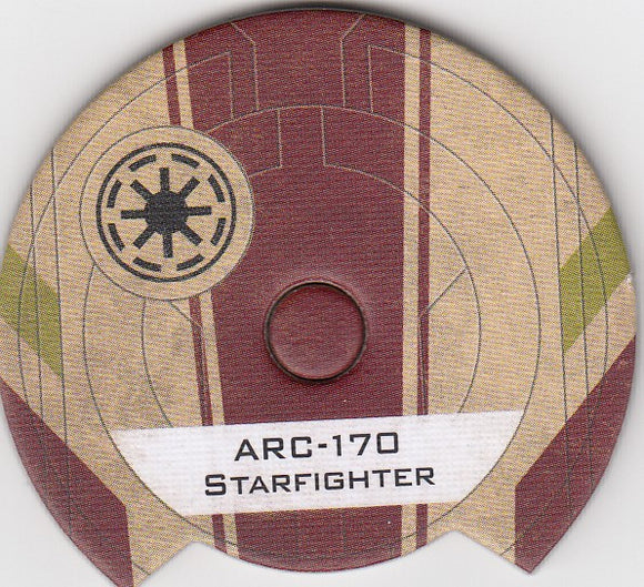 Arc-170 Starfighter (Galactic Republic Dial)