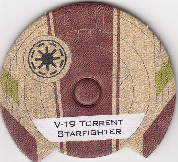 V-19 Torrent Starfighter (Galactic Republic Dial)