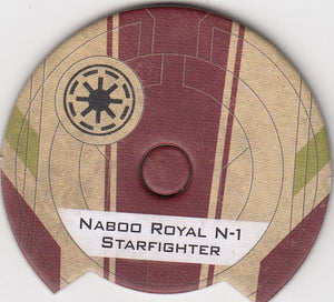 Naboo Royal N-1 Starfighter  (Galactic Republic Dial)