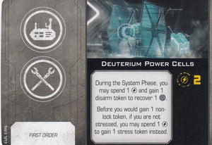 Deuterium Power Cells